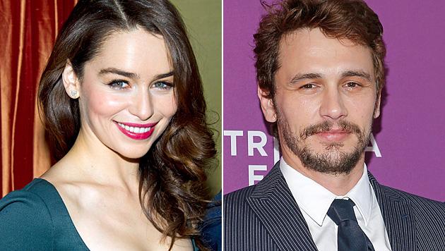 """James Franco: Mit """"Game of Thrones""""-Star angebandelt? (Bild: AP, AFP)"""