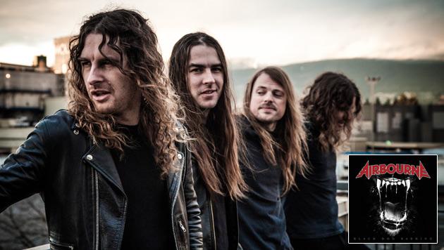 Airbourne kommen mit neuem Album zum Nova Rock (Bild: Warner Music)
