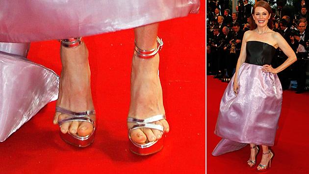 """Julianne Moore: """"Ich schneide mir die Zehen ab!"""" (Bild: AP)"""