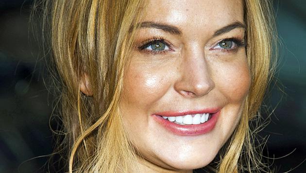Lindsay Lohan leidet im Entzug unter Fressattacken (Bild: AP)