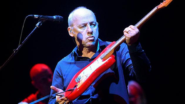 Gitarrenheld Mark Knopfler live in Österreich zu Gast (Bild: EPA)