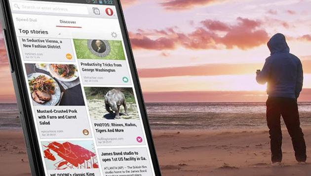 Operas WebKit-Browser verlässt Beta-Stadium (Bild: Google Play Store)