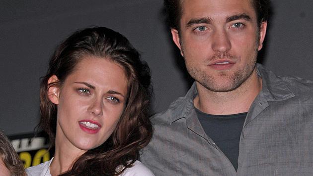 Pattinson und Stewart schon wieder getrennt (Bild: AP)