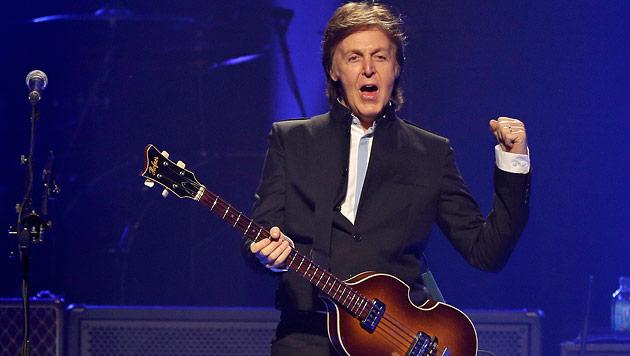 Paul McCartney mit grandioser Show zum US-Tourauftakt (Bild: AP)