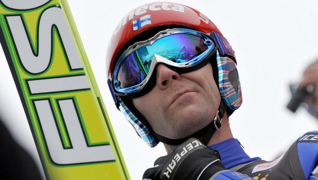 Skisprung-Methusalem Ahonen macht bis 2017 weiter (Bild: EPA)