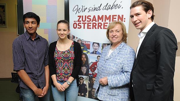 Deutsche Regierung holt sich Tipps bei Integration (Bild: APA/HERBERT PFARRHOFER)