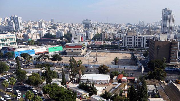 Der Vorfall ereignete sich in einem Möbelgeschäft in der israelischen Metropole Tel Aviv. (Bild: EPA)