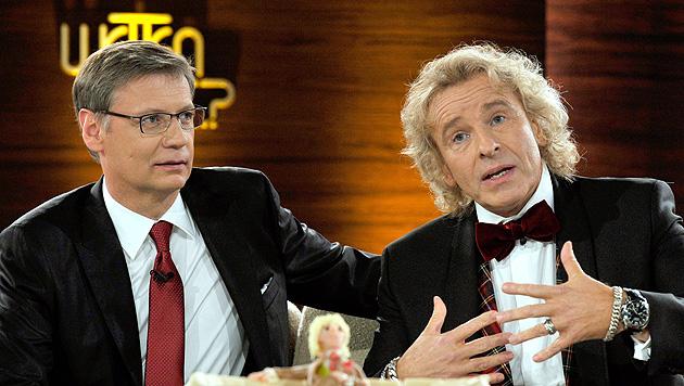 Gottschalk und Jauch zusammen in TV-Show bei RTL? (Bild: EPA)