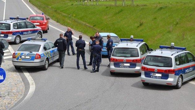 Kanaldeckeldiebe in NÖ verfolgt und in Tschechien gefasst (Bild: LPD NÖ)