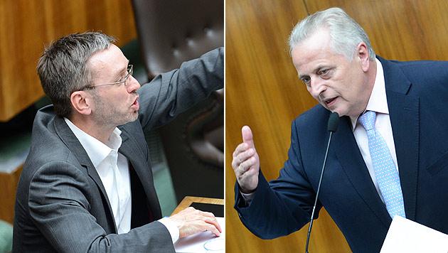 "Sozialminister Hundstorfer gegen ""FPÖ-Demagogie"" (Bild: APA/ROBERT JAEGER)"