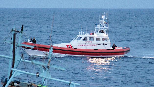 Migration: Italien droht mit Abweisung von Schiffen
