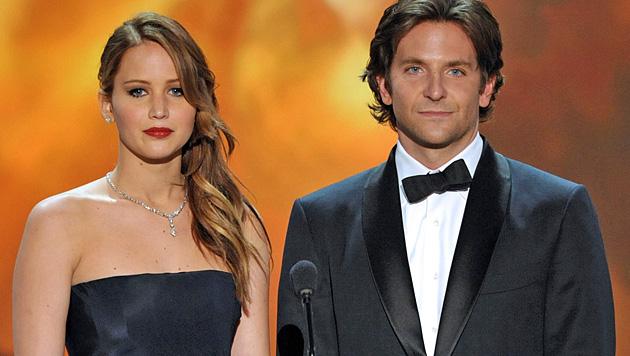 Bereits drei Mal standen Jennifer Lawrence und Bradley Cooper gemeinsam vor der Kamera. (Bild: AP)