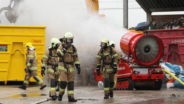 Gasalarm: Sperre der Westbahn in Sbg aufgehoben (Bild: Niki Faistauer)