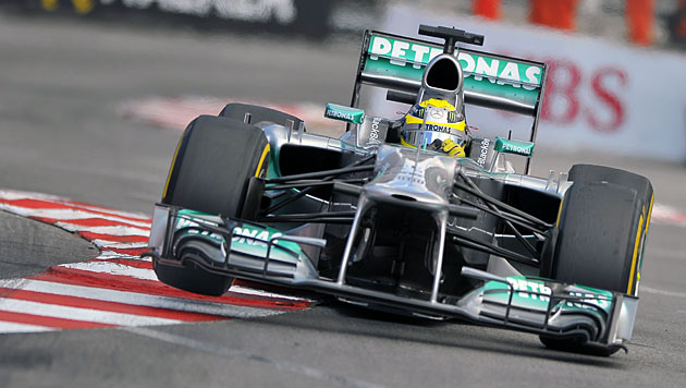 Nico Rosberg holt in Monte Carlo Pole vor Hamilton (Bild: EPA)