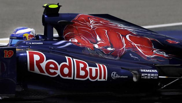 Toro Rosso fährt ab 2014 mit Motoren von Renault (Bild: AP)