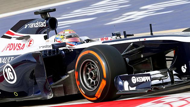 Williams setzt ab 2014 auf Mercedes-Motoren (Bild: EPA)