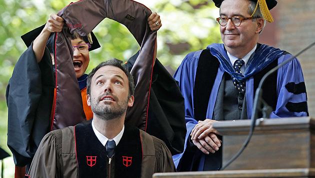 Ben Affleck mit Ehrendoktortitel ausgezeichnet (Bild: AP)