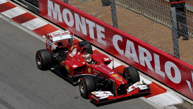 """Debakel in Monaco für Alonso """"nur eine Ausnahme"""" (Bild: EPA)"""