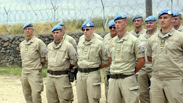 Heftiges Polit-Gefecht um Abzug der Golan-Soldaten (Bild: APA/BUNDESHEER/GUNTER PUSCH)