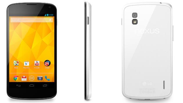 LGs weißes Nexus 4 kommt bald auch nach Europa (Bild: LG)