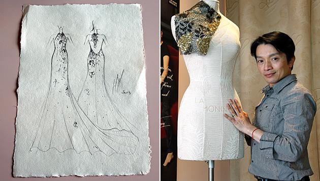 Post verlor La-Hong-Kleid im Wert von 4.000 Euro (Bild: Reinhard Holl)