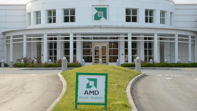 Prozessorhersteller AMD kämpft mit Umsatzrückgang (Bild: EPA)