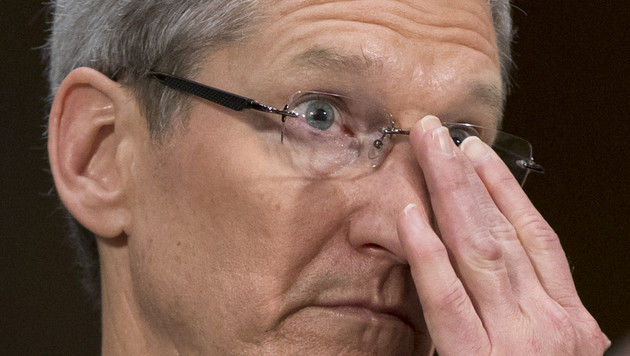 Apple-Chef Cook deutet Interesse an Smartwatch an (Bild: AP)