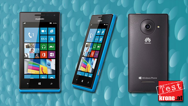 Huawei Ascend W1: Einstieg in Windows Phone 8 im Test (Bild: Huawei, thinkstockphotos.de, krone.at-Grafik)