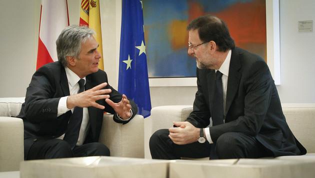 Junge Arbeitslose: Ö schickt Experten nach Spanien (Bild: APA/BKA/ANDY WENZEL)