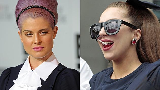 Kelly Osbourne beschimpft Lady Gaga als Heuchlerin (Bild: AP, EPA)