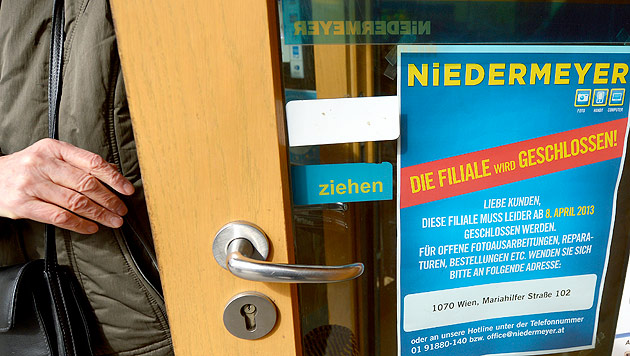 Niedermeyer macht endgültig dicht: 300 Jobs fallen weg (Bild: APA/Roland Schlager)