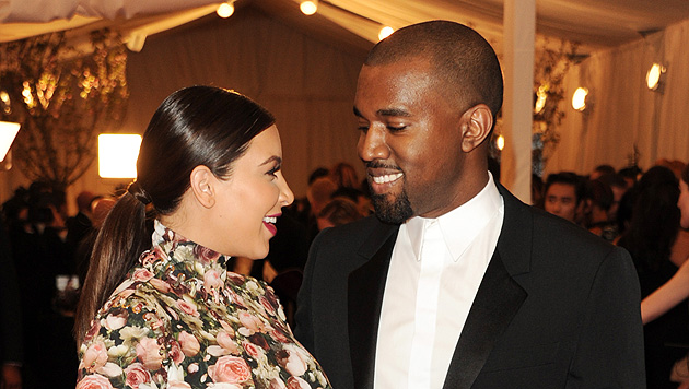 Kanye West mietet für seine Kim sogar eine Luxus-Suite (Bild: AP)