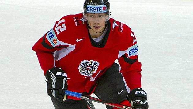 Michael Raffl heuert bei Philadelphia in der NHL an (Bild: EPA)