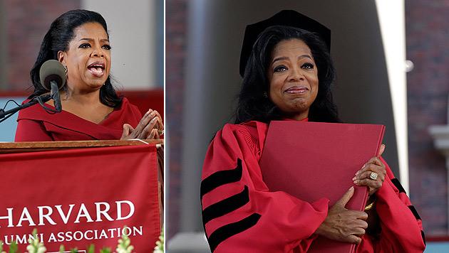 Oprah Winfrey erhält Ehrendoktor-Titel von Harvard (Bild: AP)
