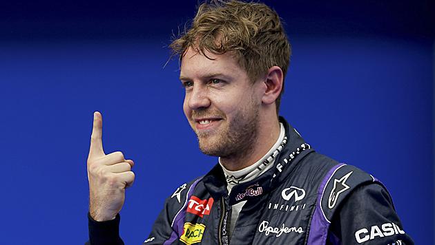 """Heimrennen auf RB-Ring für Vettel """"etwas Besonderes"""" (Bild: AP)"""