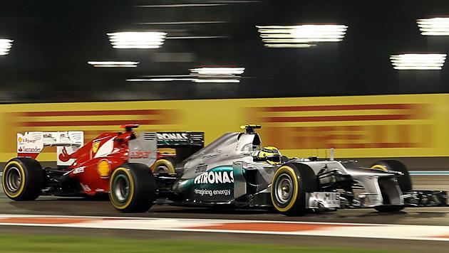 Ferrari kontert und sieht nur Mercedes als Sünder (Bild: EPA)