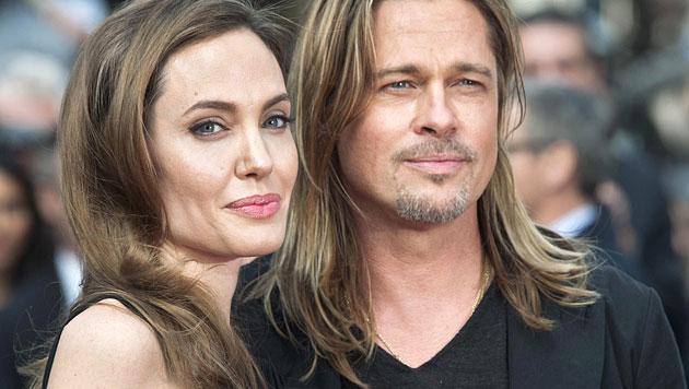 Angelina Jolies scharfe Liebesregeln mit Brad Pitt (Bild: AP)