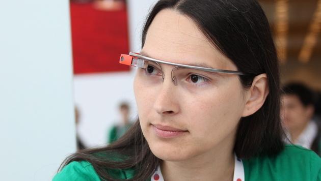 Google Glass nach Kritik vorerst ohne Gesichtserkennung (Bild: EPA)