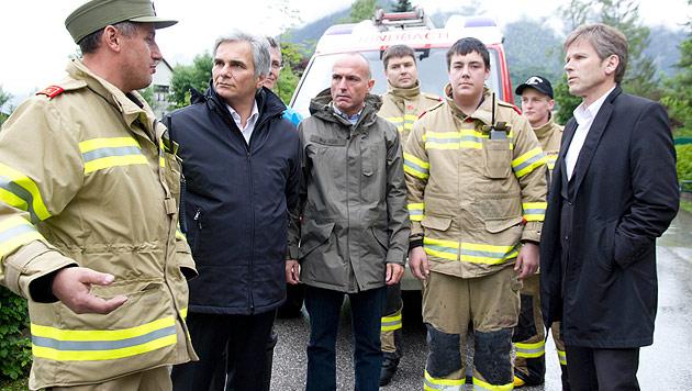 """Hochwasser-Krisenstab: Kosten """"nicht abschätzbar"""" (Bild: APA/BKA/Militärkommando Oberösterreich)"""