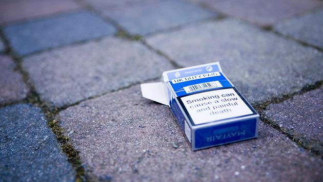 """Zigarettendieb legt """"Schachtel-Spur"""" - von Polizei gefasst (Bild: thinkstockphotos.de (Symbolbild))"""