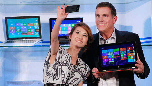 "Computex: Intel lässt ""Haswell""-CPUs vom Stapel (Bild: AP)"