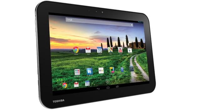 Drei neue Android-Tablets von Toshiba vorgestellt (Bild: Toshiba)