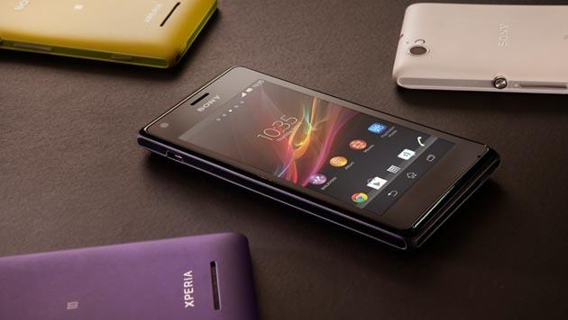 Sony kündigt Low-End-Smartphone Xperia M an (Bild: Sony)