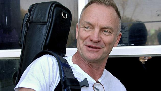 Sting kündigt für Herbst ein neues Album an (Bild: AP)