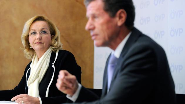 """Lehrerdienstrecht: Fekter will """"den Karren flottkriegen"""" (Bild: APA/HANS KLAUS TECHT)"""