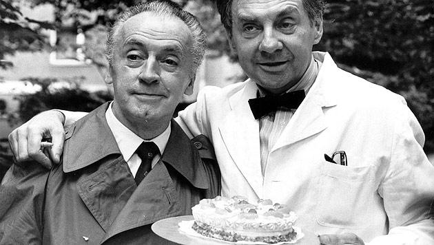 Schauspieler und Komiker Eddi Arent (88) ist tot (Bild: AP)