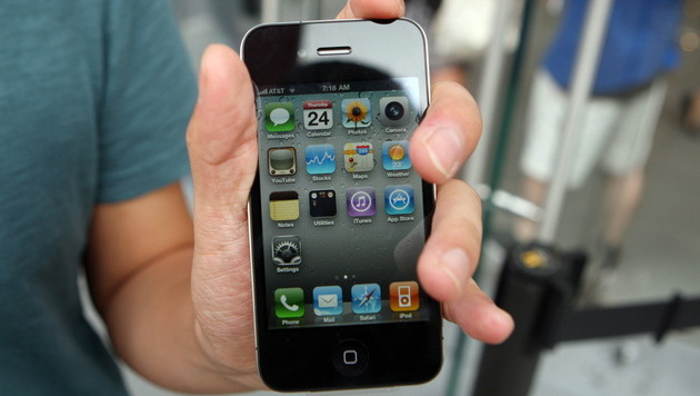 """iPhone-User sind die """"sozialeren"""" Smartphone-Nutzer (Bild: EPA)"""
