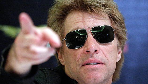 """Jon Bon Jovi findet: """"Frauen sollten die Welt regieren"""" (Bild: APA/GEORG HOCHMUTH)"""
