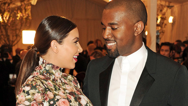 Kim Kardashian: Babyname angeblich enthüllt (Bild: EPA)
