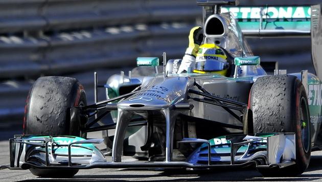 Mercedes und Pirelli müssen vor das FIA-Tribunal (Bild: EPA)